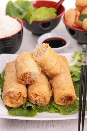 spring roll: spring roll fritto