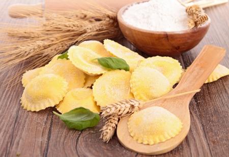 homemade: raw tortellini