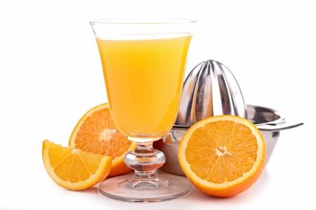 orange juice Stock Photo