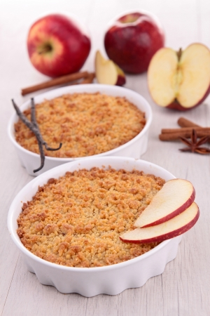 apple crumble: gourmet apple crumble