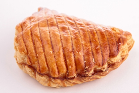 turnover: isolated apple turnover Stock Photo