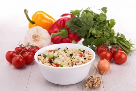 fresh healthy appetizersalad Stock Photo