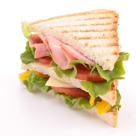 merenda: panino isolato