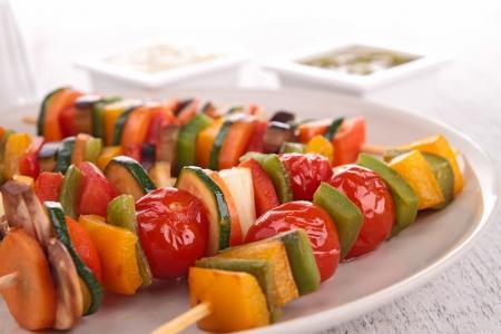 picks: vegetarian skewer kebab