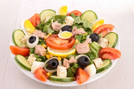 fresh salad Stock Photo - 18785466