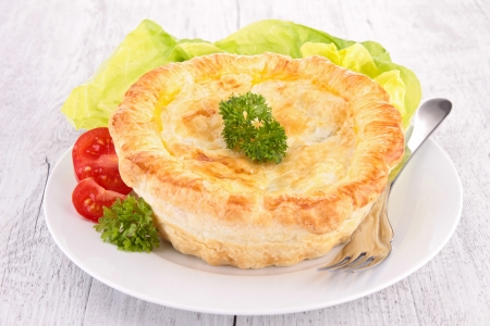 chiken pot pie photo