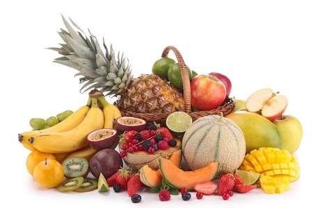 canestro basket: composizione di frutta