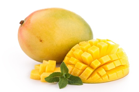 isolated mango photo