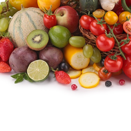 fruits and vegetables Stock Photo - 19166216