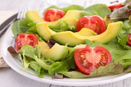 avocado: vegetable salad