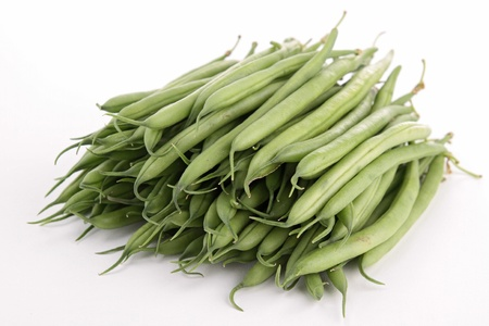 isolated green bean Stock Photo - 19492742