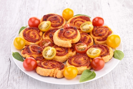 tomato cheese pinwheel photo