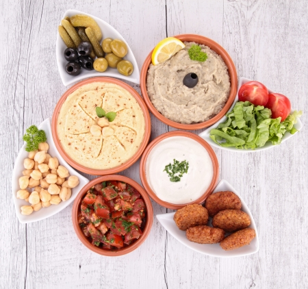 lebanese food: lebanese food
