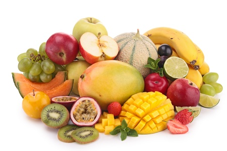 fresh fruits: composition of fruit