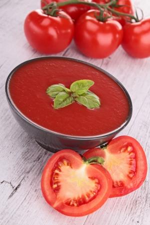 gazpacho: tomato gazpacho