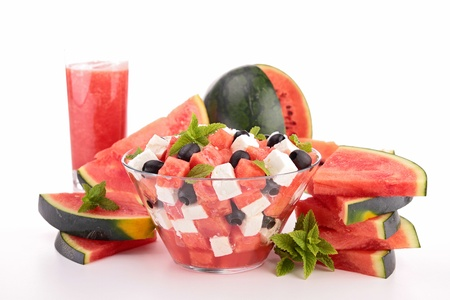 watermelon salad photo