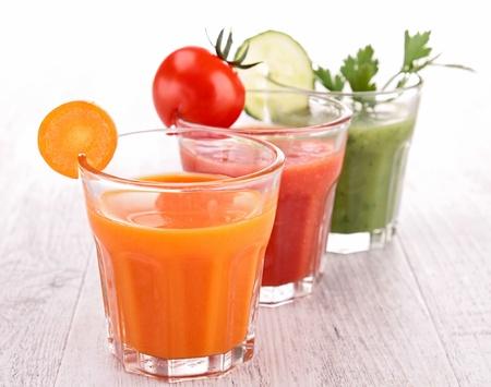 野菜ジュース 写真素材