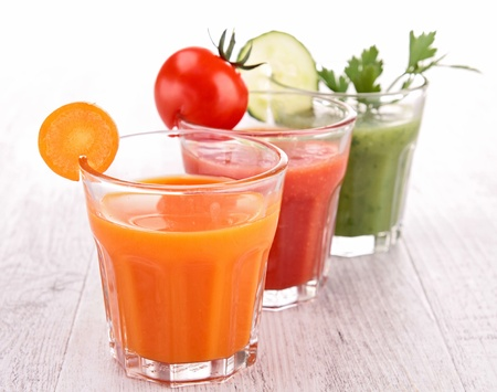carrot juice: vegetable juice