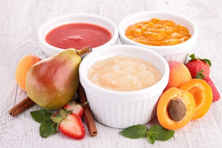compote: assortment of compote
