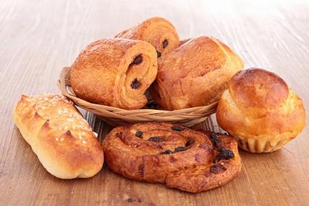 pastries Banque d'images