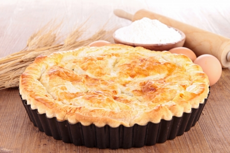 meat pie and ingredient