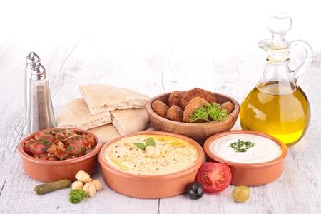 lebanese food: lebanese food, cold mezze