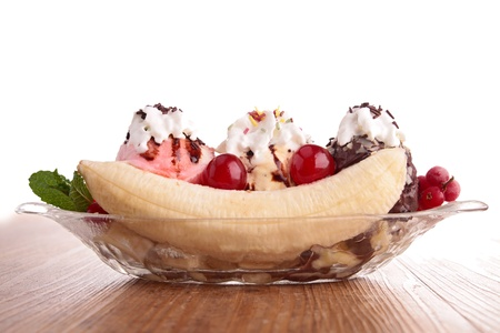 banana split photo