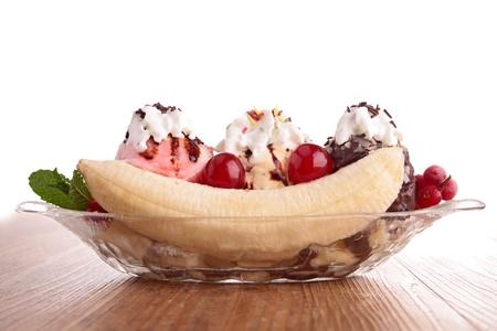 bananensplit Stockfoto