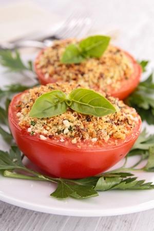 provencal: provencal tomatoes Stock Photo