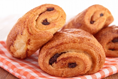 chocolate biscuits: chocolate croissant