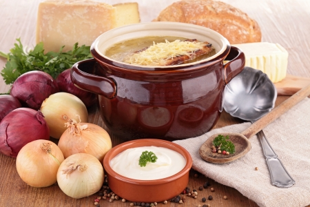 onion soup photo