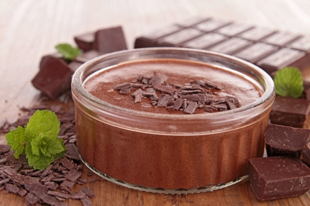 chocolate mousse Stock Photo - 22242280