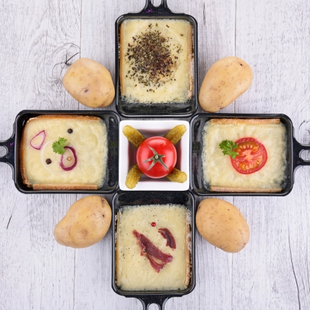 trays: raclette tray