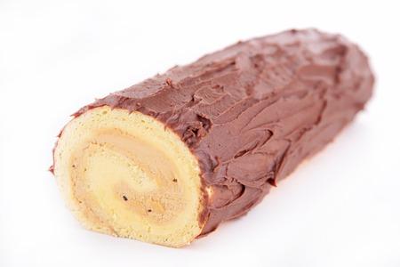 swiss roll: yule log, swiss roll