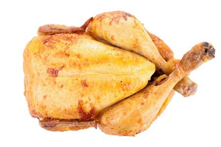 bbq chicken: roast chicken isolated