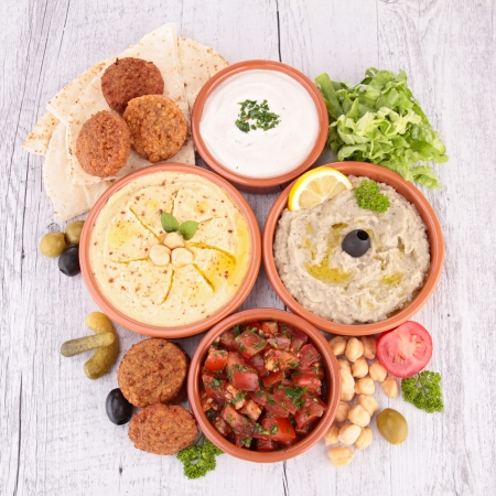 others: hummus, falafel and others mezze