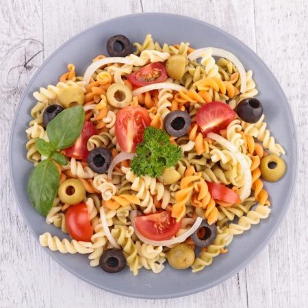 Salade de pâtes Banque d'images - 25974633