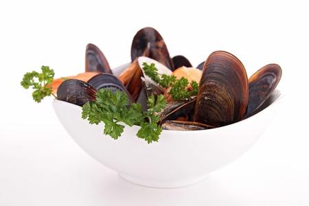 crustacean: bowl of crustacean Stock Photo
