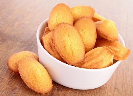 madeleine: madeleine, cookies