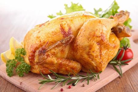 carne de pollo: pollo asado