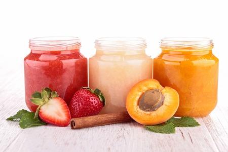 fruit jelly: fruit dessert Stock Photo