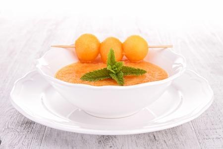 gazpacho: melon soup, gazpacho