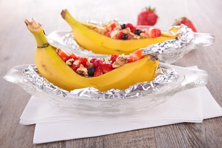 バナナ果実の