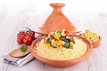 tajine with couscous photo