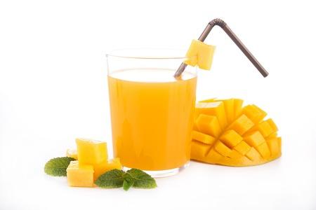 mango juice photo