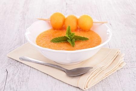 cold soup melon