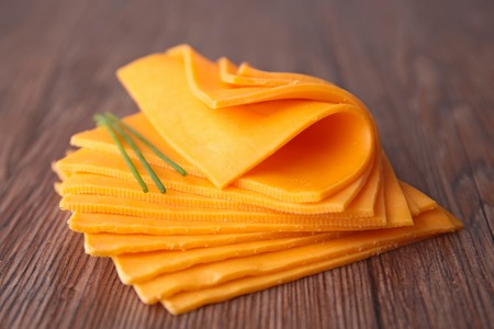 sliced cheese: sliced cheese