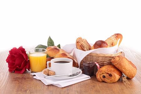 dejeuner: petit d�jeuner Banque d'images