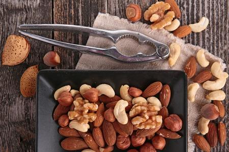 mix nuts Archivio Fotografico