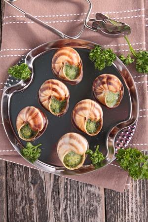 bourgogne: bourgogne snail, french gastronomy